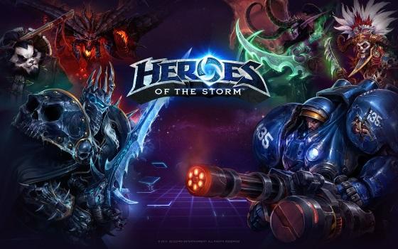 Релиз Heroes of the Storm состоится 2 июня