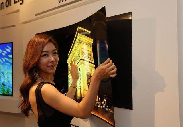 LG анонсировала гнущийся телевизор толщиной менее одного миллиметра