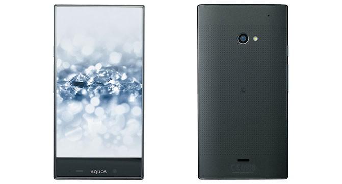 Sharp анонсировала второе поколение безрамочного смартфона Aquos Crystal 2