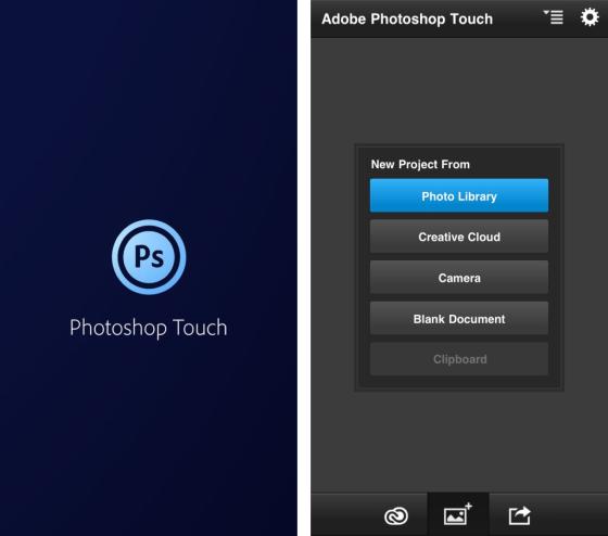 Adobe закрывает приложение Photoshop Touch