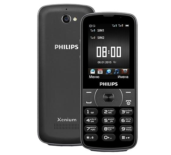 Philips Xenium E560 проживет 2,5 месяца от одного заряда