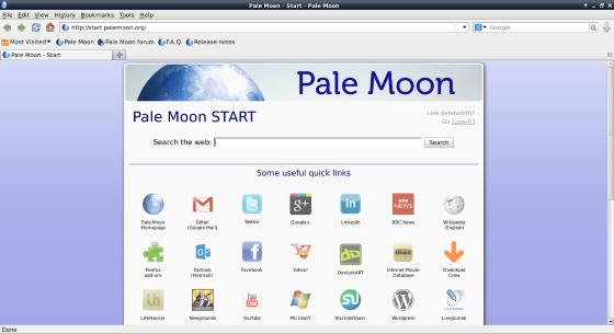 Браузер Pale Moon сообщил о создании ответвления от движка Firefox