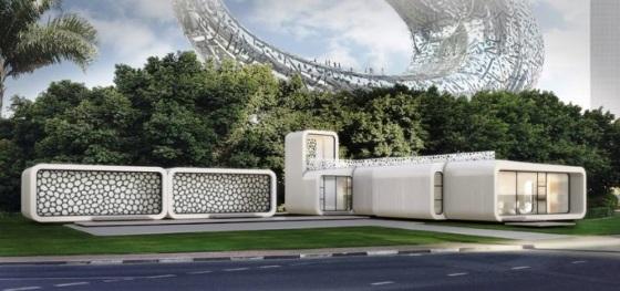 В Дубае создадут первый в мире офис напечатанный на 3D-принтере