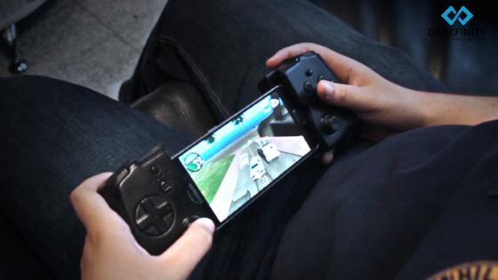 Darkfinity — идеальный геймпад для любителя мобильных игр