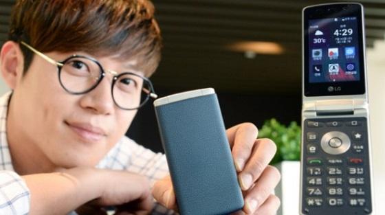 LG Gentle — доступная раскладушка на Android