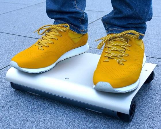 WalkCar — необычный скутер, который легко носить с собой