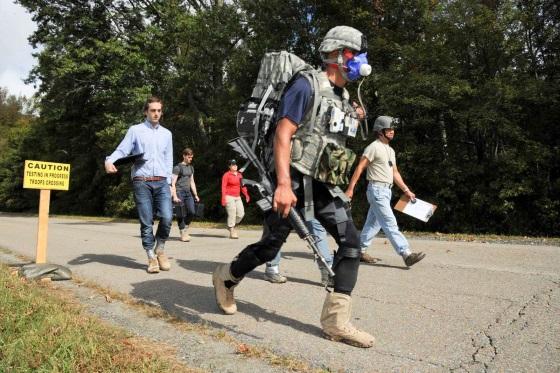 DARPA ведет испытание военных экхоскелетов