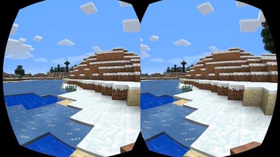 Minecraft получит поддержку виртуальной реальности