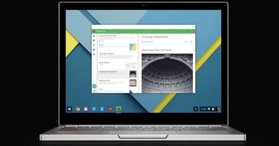 Chrome OS могут объединить с Android