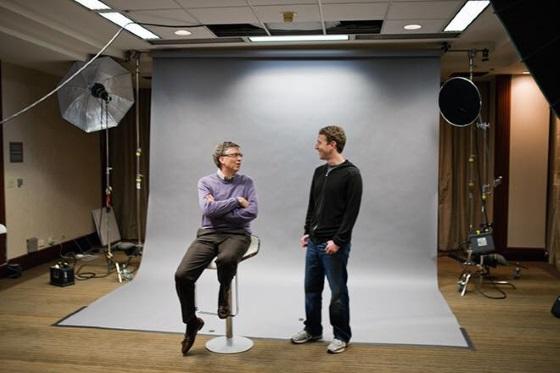 Марк Цукербер и Билл Гейтс приняли участие в развитии «чистой» энергии