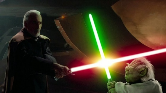 Фанат сделал действующую модель светового меча
