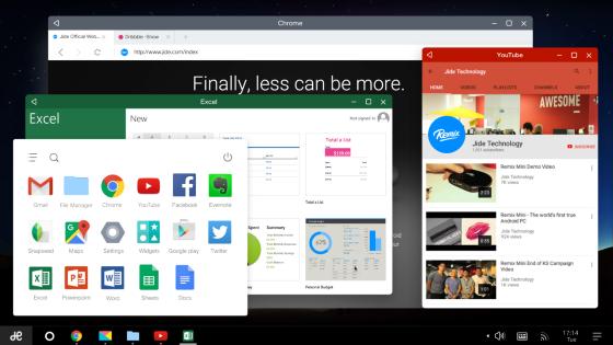Remix OS — лучшая версия Android для планшетов и компьютеров