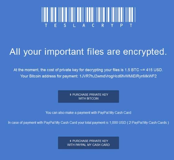 teslacrypt