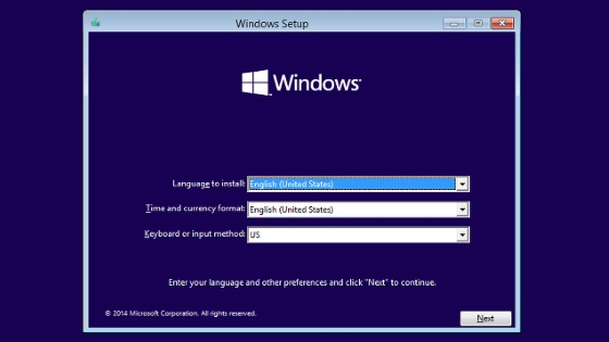 windows-serup