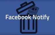 Facebook закрывает приложение Notify
