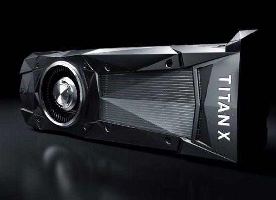 NVIDIA продемонстрировала новую видеокарту Titan X