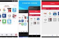 Opera для Android получила материальный дизайн