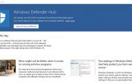 Microsoft представила единый центр безопасности в Windows 10 — приложение Defender Hub
