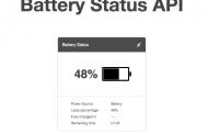 Battery Status API удалили из Firefox