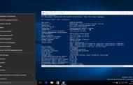 В новых тестовых сборках Windows 10 командную строку заменили на Windows PowerShell