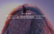 VLC начал поддерживать 360-градусное видео