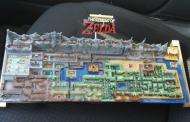 Фанат оригинальной The Legend of Zelda напечатал карту мира на 3D-принтере
