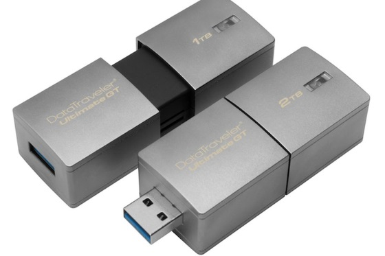 Флешка Kingston DataTraveler Ultimate GT получит 2 Тб памяти