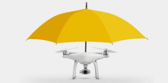 Дрон-зонтик защитит вас от дождя