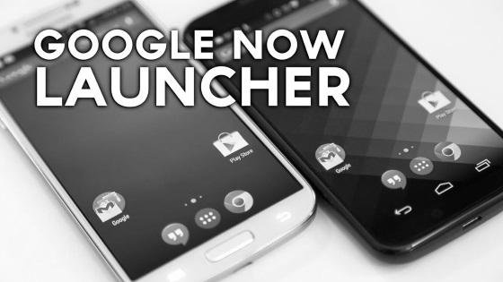 Google Now Launcher вскоре удалят из Google Play