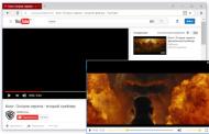 Яндекс.Браузер научился проигрывать видео «картинка в картинке»