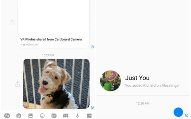 Facebook Messenger тестирует новый интерфейс и новые возможности