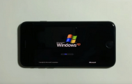 На iOS запустили Windows XP