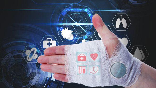 Смарт-бинты смогут передавать данные о травме