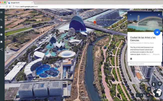 Google Earth полностью переработали