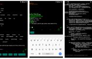 Linux CLI Launcher – командная строка вместо интерфейса Android