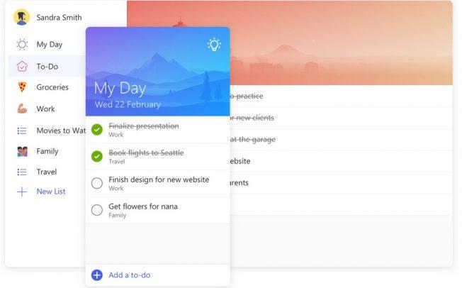 Microsoft To-Do или как анонсировали закрытие Wunderlist