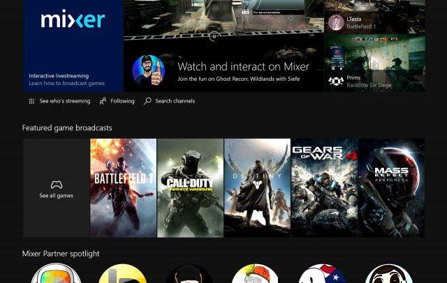 Microsoft переименовала стриминг сервис Beam в Mixer
