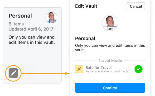 1Password ввел Режим Путешествий, который поможет сохранить ваши пароли на границе