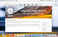 macOS High Sierra можно назвать одним из самых скучных обновлений