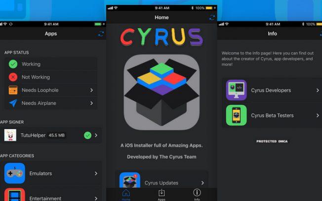 Cyrus позволит устанавливать на iOS новые твики и приложения без джейлбрейка
