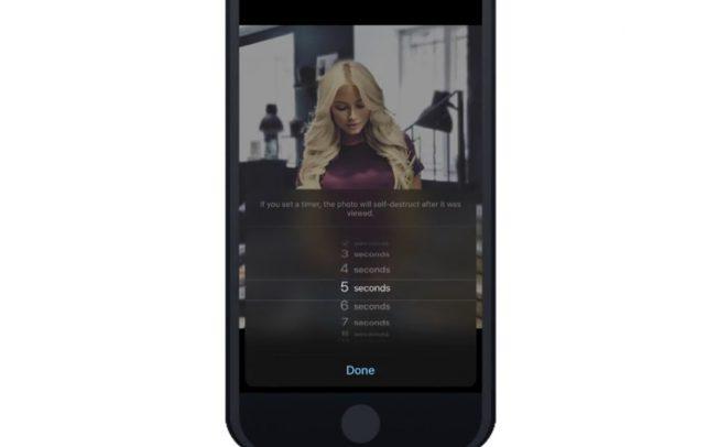 В Telegram добавили самоуничтожающиеся фото и видео