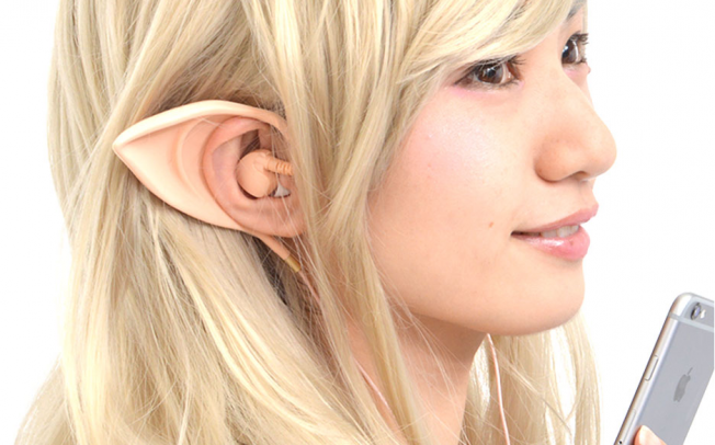 Наушники с кошачьими ушами уже не модны, в моде наушники с ушами эльфов