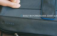 Moovy Bag – рюкзак со встроенным аккумулятором и солнечной панелью