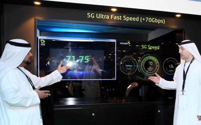 Etisalat продемонстрировала очередной рекорд скорости в рамках сетей 5G