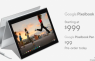 Google представила хромбук Pixelbook