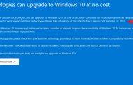 Способ бесплатного обновления до Windows 10 закрывают