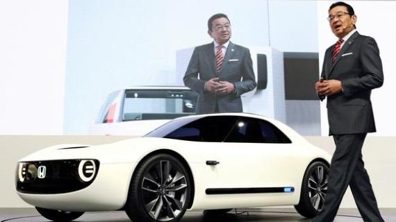 Honda планирует выпустить электромобили заряжающиеся за 15 минут