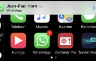 WhatsApp теперь доступен в CarPlay