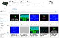 Большую коллекцию приложений и игр с ZX Spectrum хранит Internet Archive