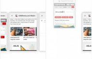 Google Chrome для Android тестирует вертикальные вкладки